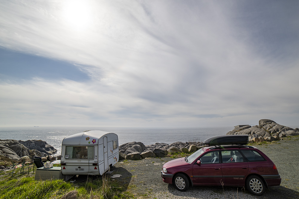 Campingvogn Sandhåland camping