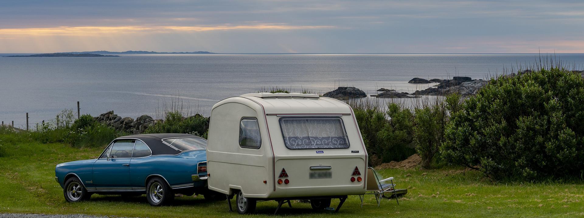 Campingvognovernatting Sandhåland