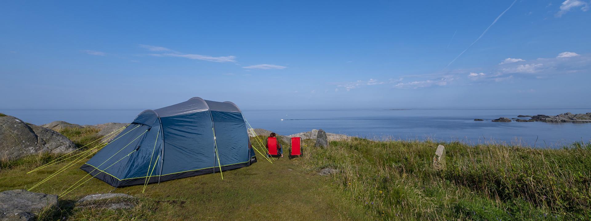 Teltovernatting Sandhåland