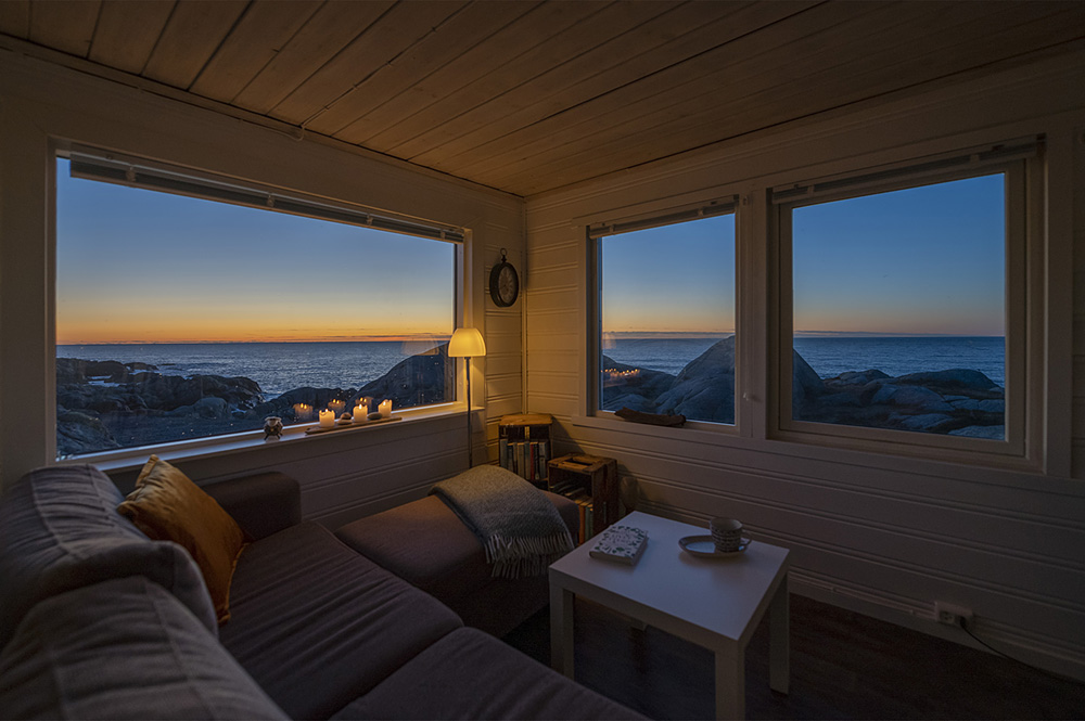 Hytte Sandhåland camping