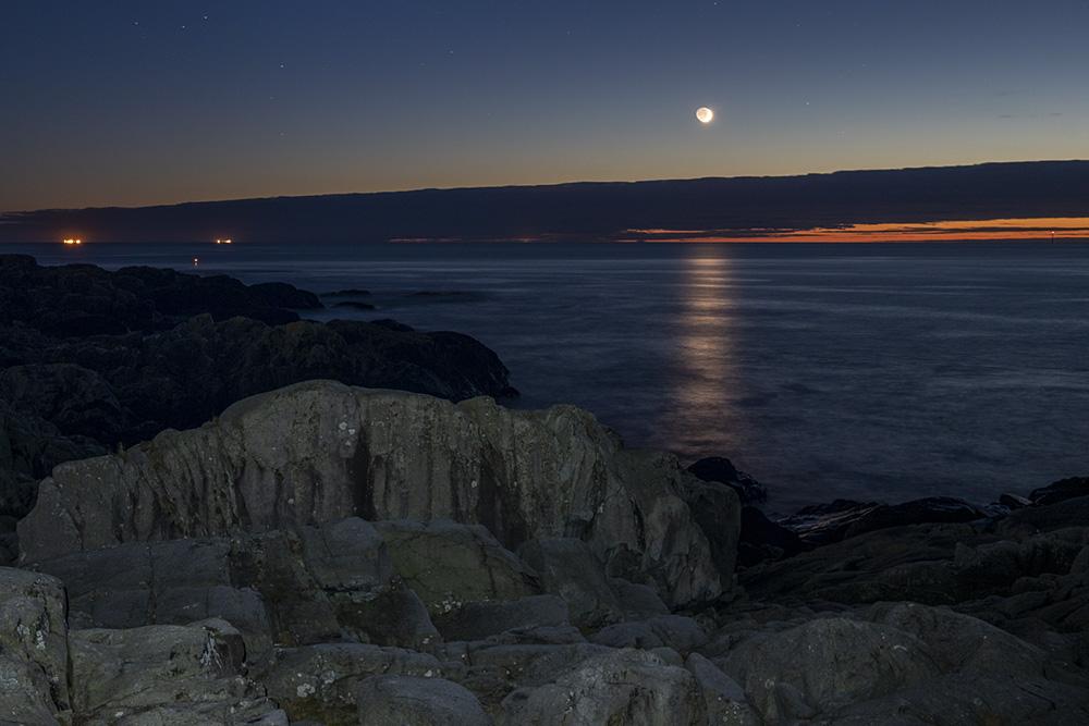 måneskinn Sandhåland camping