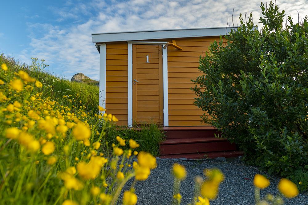 hytte nr 1 Sandhåland camping